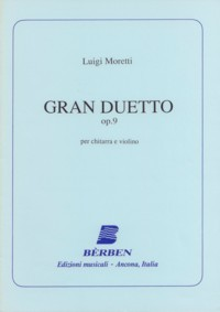 Gran duetto, op.9 (Agostinelli/Rossini) available at Guitar Notes.