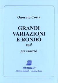 Grandi variazioni e Rondo, op.5(Agostinelli) available at Guitar Notes.