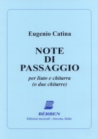 Note di passagio available at Guitar Notes.