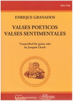 Valses poeticos; Valses sentimentales (Clerch) available at Guitar Notes.