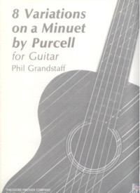 8 Variations on a Minuet by Purcell, op.23 available at Guitar Notes.