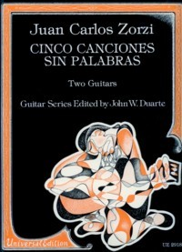 Cinco Canciones sin palabras(Siewers) available at Guitar Notes.