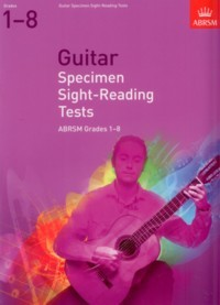 Specimen Sight Reading Tests Grades 1-8 available at Guitar Notes.