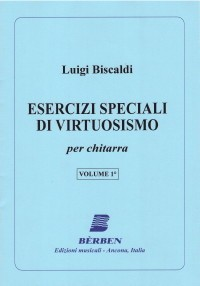 Esercizi speciali di virtuosismo, Vol.1 available at Guitar Notes.