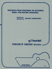 Concerto Grosso, op.4/6 [6Gtr] available at Guitar Notes.