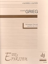 Norwegian Dances(Eriksson) available at Guitar Notes.