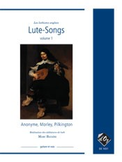 English Lute Songs, vol.1 [Med Voc] available at Guitar Notes.