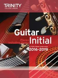 Guitar Exam Pieces Initial 2016-2019 available at Guitar Notes.