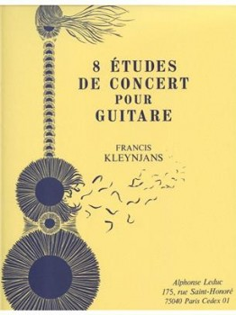 8 Etudes de Concert, op.29 available at Guitar Notes.