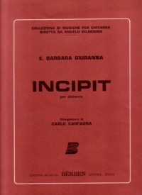 Incipit available at Guitar Notes.