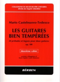 Les Guitares Bien Temperees, op.199: Vol.2 available at Guitar Notes.