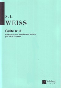 Suite no.8(Caceres) available at Guitar Notes.