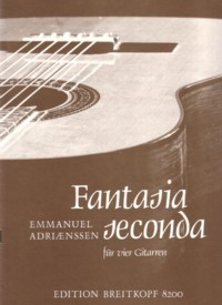Fantasia seconda(Baumann) available at Guitar Notes.
