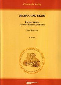 Concerto for Three Guitars & Orchestra available at Guitar Notes.