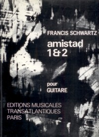 Amistad 1 & 2 available at Guitar Notes.