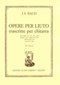 Opere per liuto(Chiesa) available at Guitar Notes.