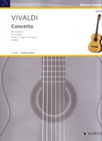 Concerto in G, RV532(Lohse) available at Guitar Notes.