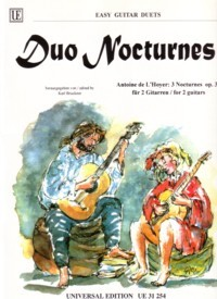 Duo Nocturnes, op.37(Bruckner) available at Guitar Notes.