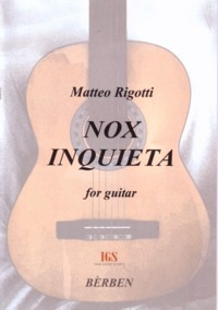 Nox Inquieta available at Guitar Notes.