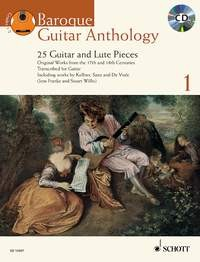 Baroque Guitar Anthology 1 [BCD] available at Guitar Notes.