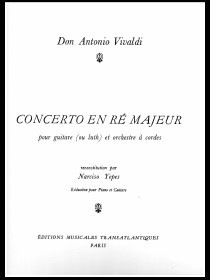Concerto en Re Majeur RV93 (Yepes) available at Guitar Notes.