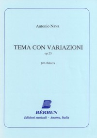 Tema con variazioni, op.25 available at Guitar Notes.