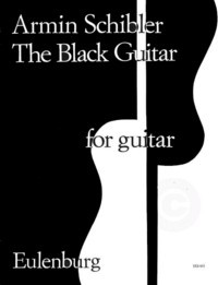 The Black Guitar available at Guitar Notes.