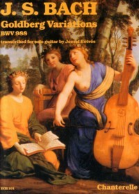 Goldberg Variations, BWV988(Eotvos) available at Guitar Notes.