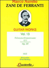 Guitar Works, Vol.13: Polonaise Concertante available at Guitar Notes.