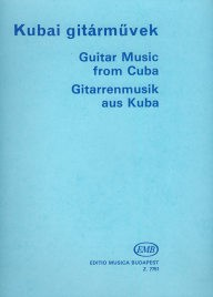 Guitar Music of Cuba available at Guitar Notes.