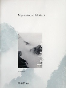 Mysterious Habitats available at Guitar Notes.
