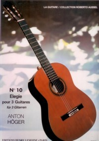 No.10: Elegie(Aussel) available at Guitar Notes.
