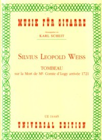 Tombeau sur la Mort de Logy(Scheit) available at Guitar Notes.