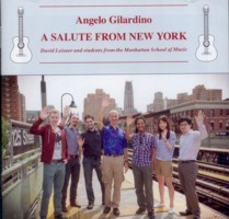 Gilardino: A Salute from New York available at Guitar Notes.