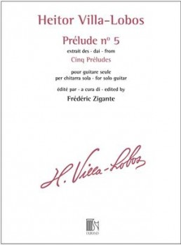 Prelude no.5 in D (Zigante) available at Guitar Notes.