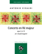 Concerto, op.3/9(Gagnon) available at Guitar Notes.