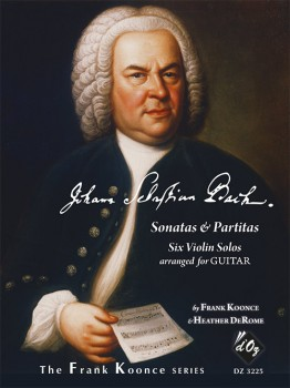 Sonatas and Partitas(Koonce) available at Guitar Notes.