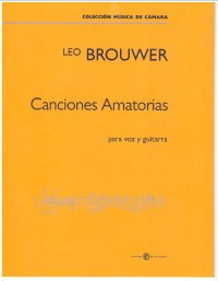 Canciones Amatorias available at Guitar Notes.
