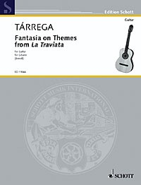 Fantasia on Themes from La Traviata available at Guitar Notes.