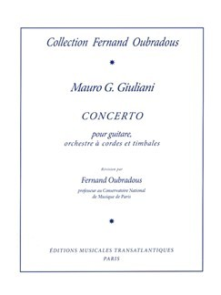 Concerto in A op.30 (Oubradous) available at Guitar Notes.