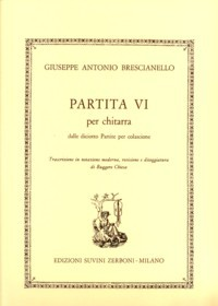 Partita VI(Chiesa) available at Guitar Notes.