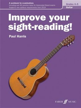 Improve your sight-reading! Grades 4-5 available at Guitar Notes.