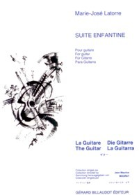 Suite enfantine(Mourat) available at Guitar Notes.