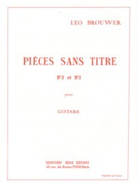 Pieces sans titre no.2 & 3 [1956/62] available at Guitar Notes.