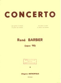 Concerto, op.98  available at Guitar Notes.