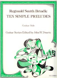 Ten Simple Preludes(Duarte) available at Guitar Notes.