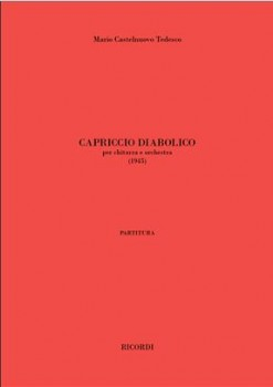Capriccio diabolico available at Guitar Notes.