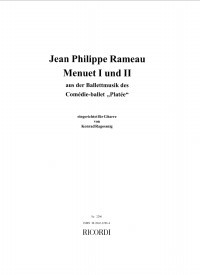 Menuet I & II(Ragossnig) available at Guitar Notes.