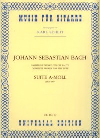 Suite in a minor, BWV997(Scheit) available at Guitar Notes.