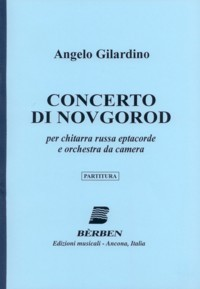 Concerto di Novgorod (Russian Gtr & Orch) available at Guitar Notes.